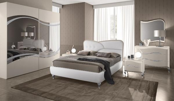 Camera da letto Rubino-tortora.